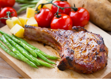 Marinated Chops of Antelope, Goat, or Bighorn Sheep Recipe - Allegro Marinade