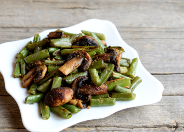 Green Beans Recipe Marinating - Allegro Marinade