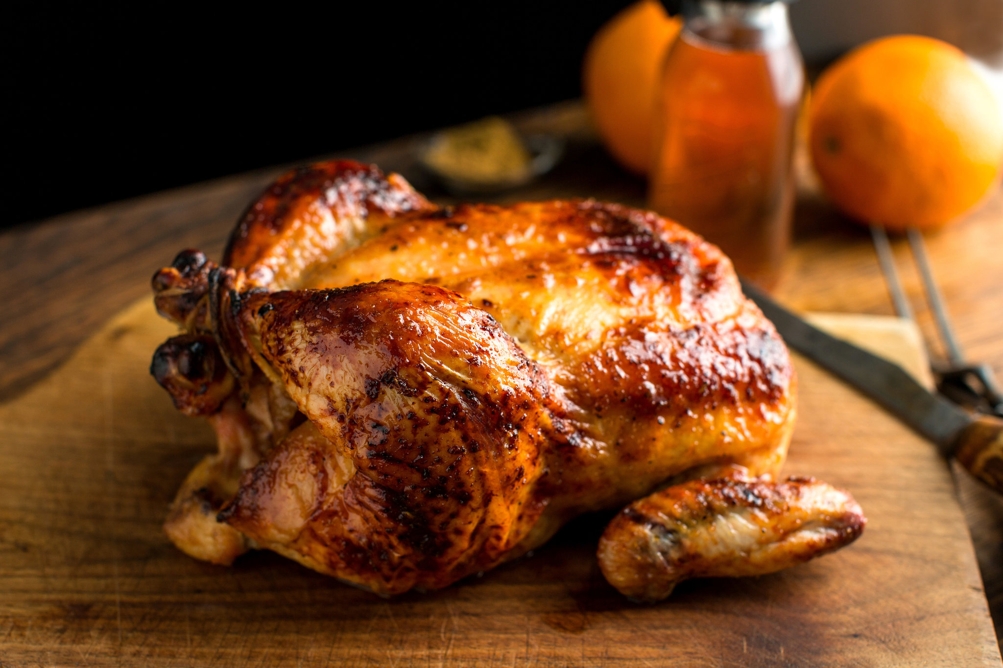 Tennessee Roast Chicken Allegro Marinade