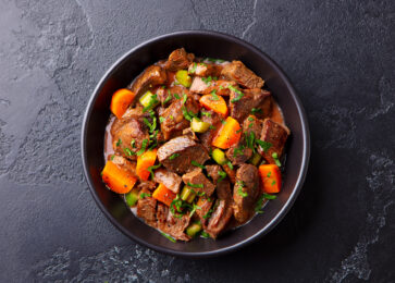Marinated Meat Soup and Stew
